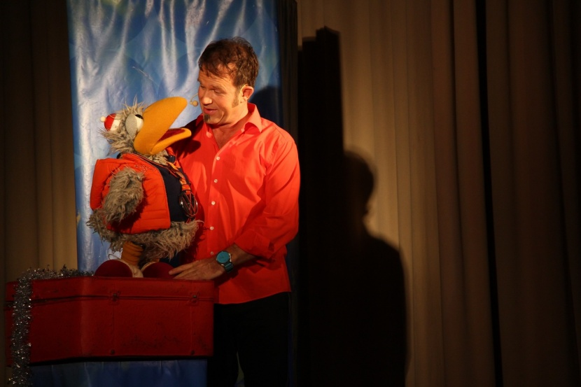 Daniel Kallauch und Willibald begeistern ihr Publikum