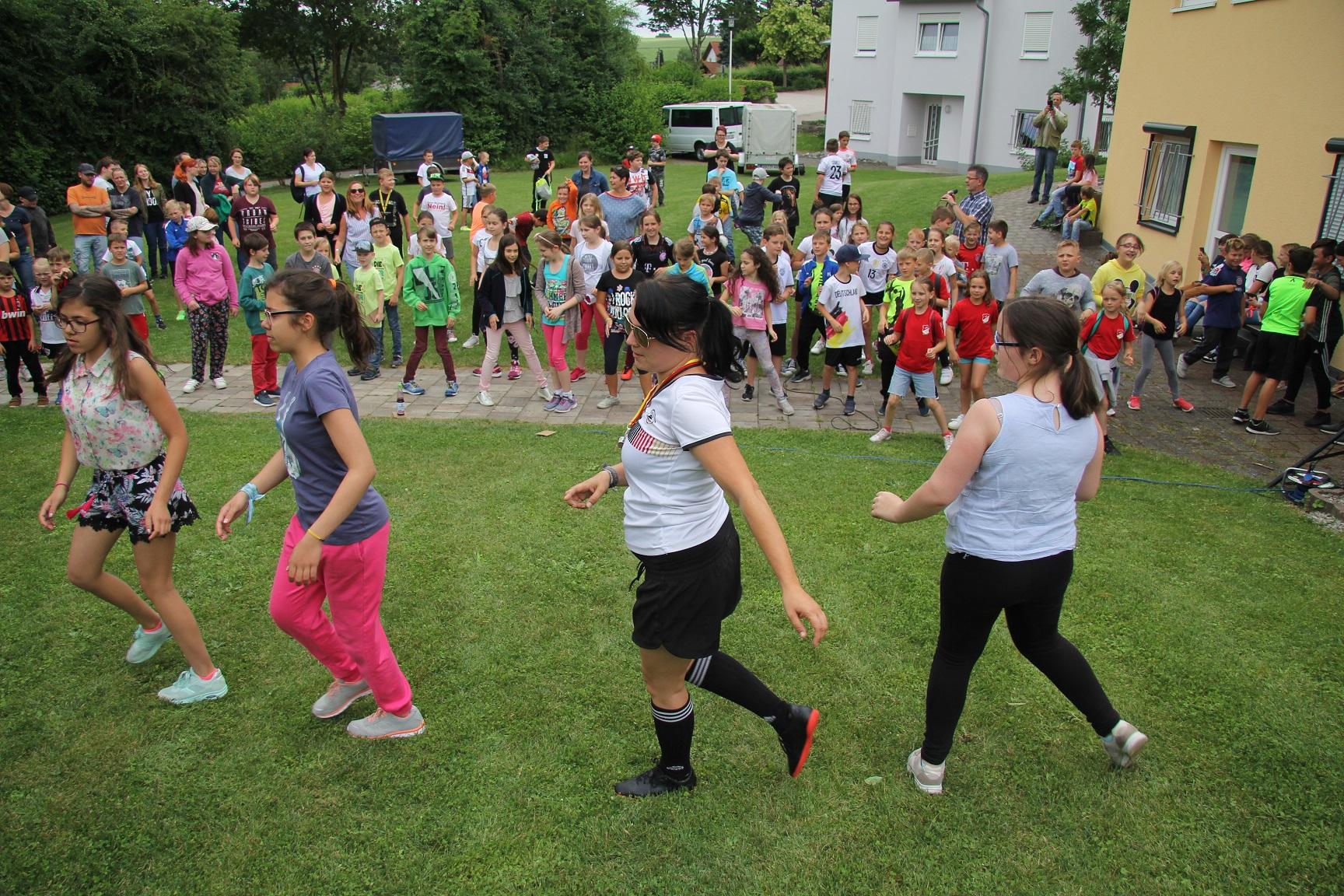 Aktionstag der Fichtenauer Schulen mit St. Raphael
